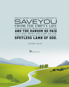 god-paid-ransom-to-save-you CHRISTian poetry by deborah ann